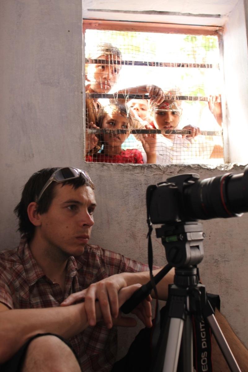 Chris Smith - working in Jaipur!