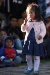 Circle Show Spectator in Cuzco, Peru