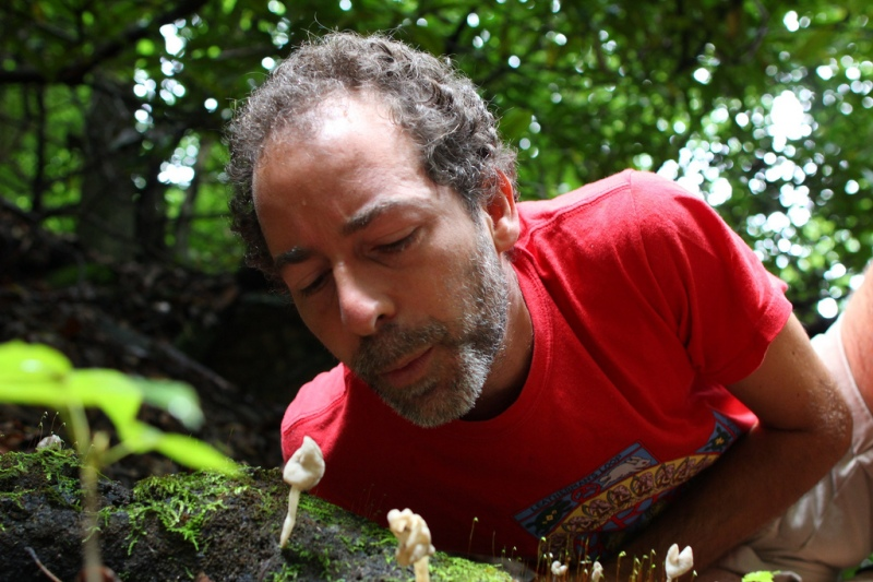 Foraging for wild mushroom with Alan Muskat 1